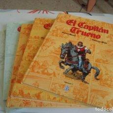 Tebeos: COLECCION EN 5 TOMOS DEL CAPITAN TRUENO.FORMATO GRANDE.1 EDICION 1993. Lote 198034791