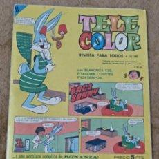 Tebeos: TELE COLOR Nº 141 (BRUGUERA 1.966). Lote 198064116