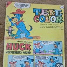 Tebeos: TELE COLOR Nº 134 (BRUGUERA 1.965). Lote 198064346