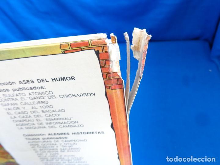 Tebeos: ALEGRES HISTORIETAS Nº 7 ANACLETO AGENTE SECRETO PRIMERA 1ª EDICIÓN AÑO 1971! SM - Foto 7 - 198115866