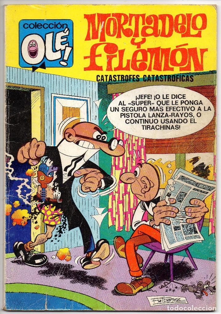 Tebeos: OLE nº 88 (Bruguera 5ª edicion 1982), 95, 166 y 280 (Bruguera 1ª edicion 1974/78/83) 4 ejemplares. - Foto 2 - 198157381