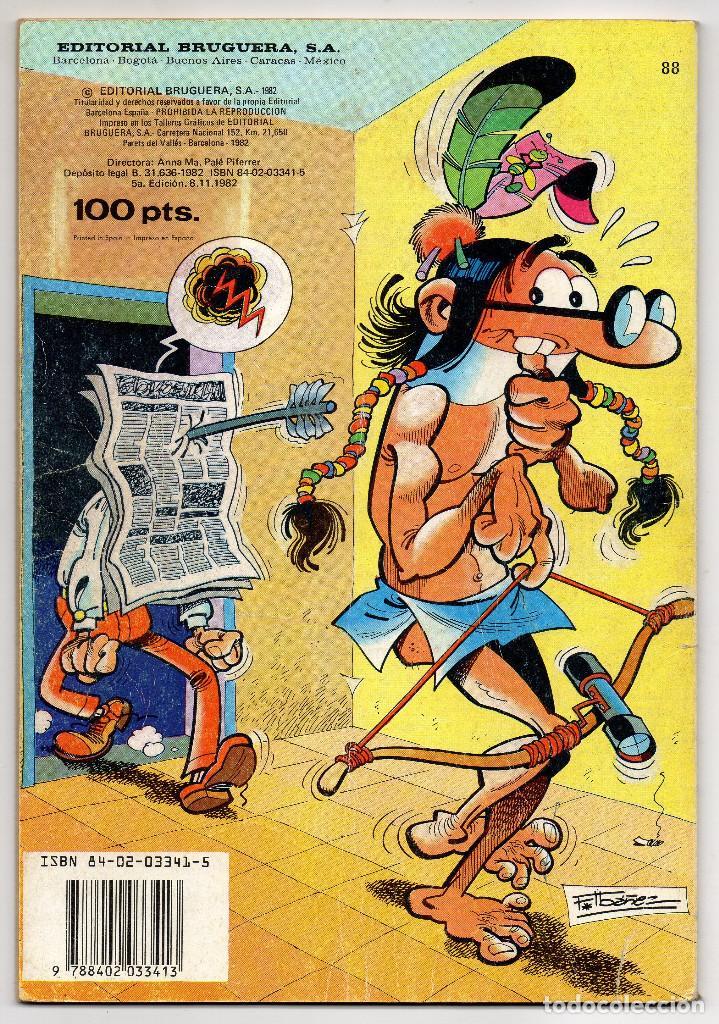 Tebeos: OLE nº 88 (Bruguera 5ª edicion 1982), 95, 166 y 280 (Bruguera 1ª edicion 1974/78/83) 4 ejemplares. - Foto 4 - 198157381