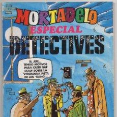 Tebeos: MORTADELO ESPECIAL DETECTIVES Nº 40 (BRUGUERA 1978) CON RIC HOCHET.. Lote 198159055