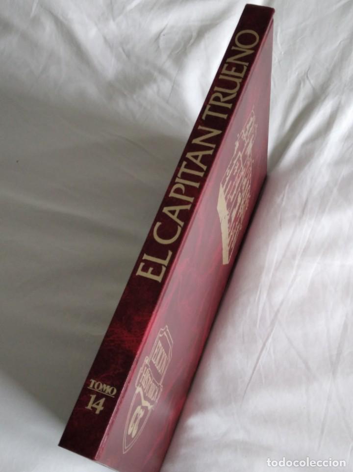 Tebeos: EL CAPITÁN TRUENO EDICIÓN HISTÓRICA TOMO 14 EDICIONES B S.A. AÑO 1978 - Foto 2 - 198188661