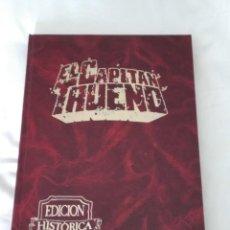Tebeos: EL CAPITÁN TRUENO EDICIÓN HISTÓRICA TOMO 17 EDICIONES B S.A. AÑO 1978. Lote 198190293