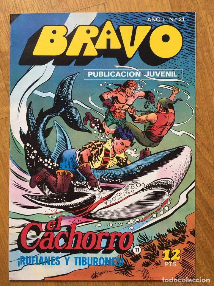 Tebeos: EL CACHORRO - BRAVO - LOTE DE 20 NÚMEROS - Foto 3 - 198200970