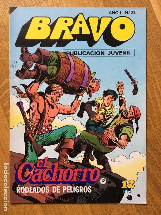 Tebeos: EL CACHORRO - BRAVO - LOTE DE 20 NÚMEROS - Foto 4 - 198200970