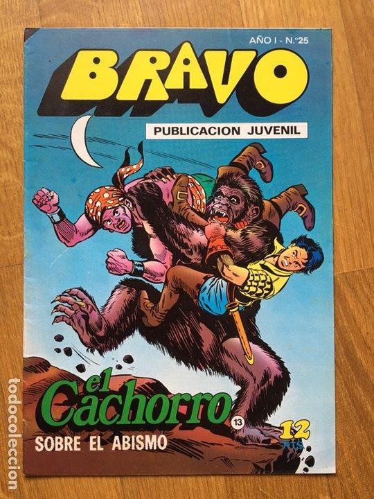 Tebeos: EL CACHORRO - BRAVO - LOTE DE 20 NÚMEROS - Foto 5 - 198200970