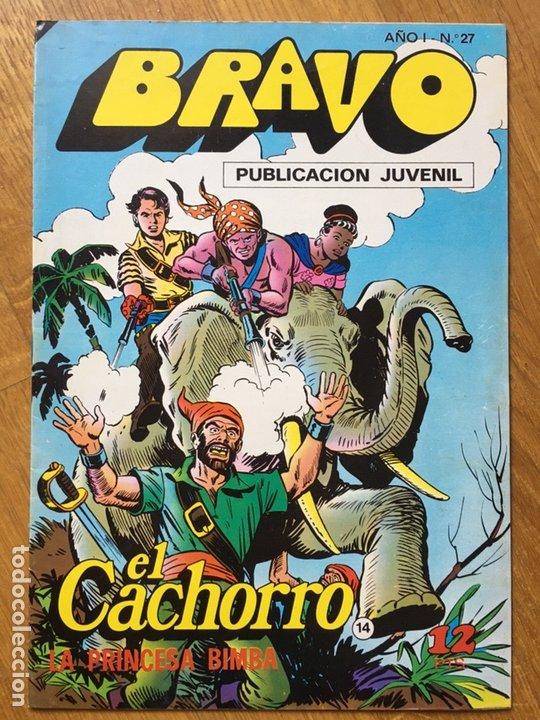 Tebeos: EL CACHORRO - BRAVO - LOTE DE 20 NÚMEROS - Foto 6 - 198200970