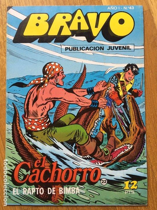 Tebeos: EL CACHORRO - BRAVO - LOTE DE 20 NÚMEROS - Foto 11 - 198200970