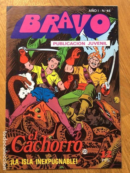 Tebeos: EL CACHORRO - BRAVO - LOTE DE 20 NÚMEROS - Foto 12 - 198200970