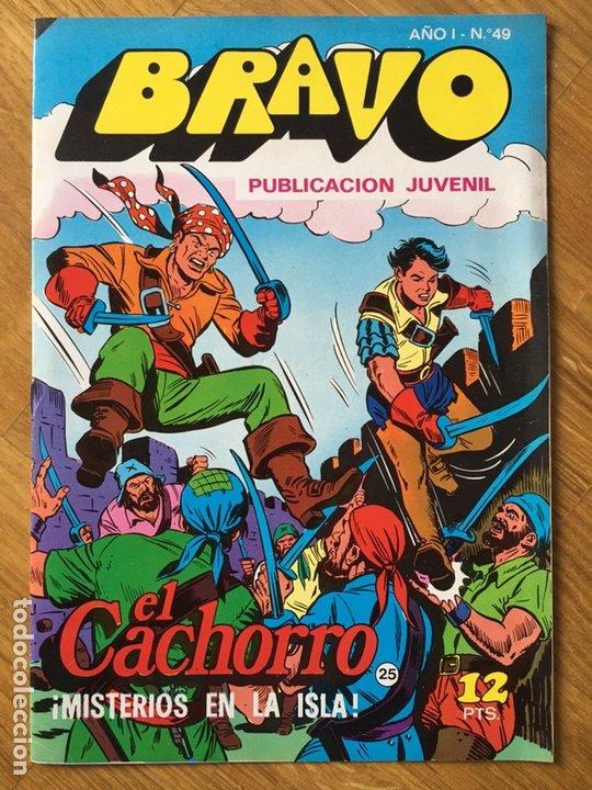 Tebeos: EL CACHORRO - BRAVO - LOTE DE 20 NÚMEROS - Foto 14 - 198200970