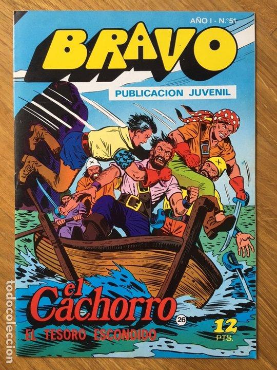 Tebeos: EL CACHORRO - BRAVO - LOTE DE 20 NÚMEROS - Foto 15 - 198200970