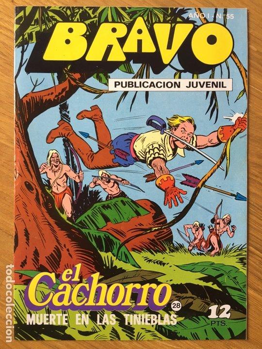 Tebeos: EL CACHORRO - BRAVO - LOTE DE 20 NÚMEROS - Foto 16 - 198200970