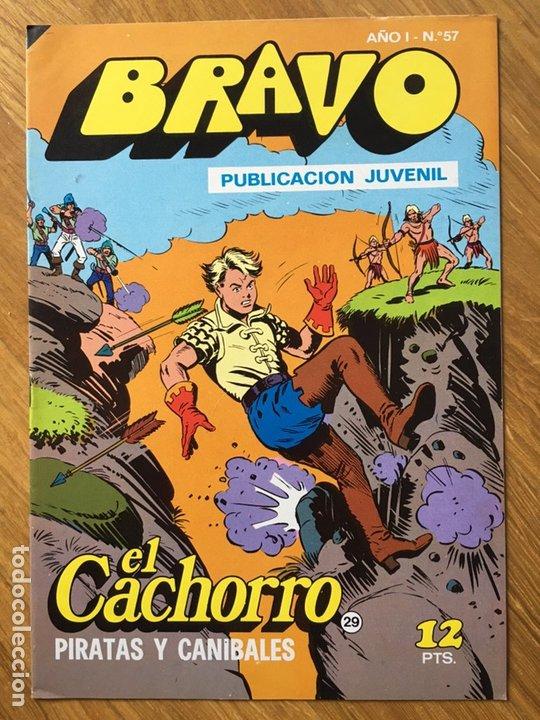 Tebeos: EL CACHORRO - BRAVO - LOTE DE 20 NÚMEROS - Foto 17 - 198200970