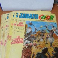 Tebeos: LOTE DE 12 COMIC JABATO COLOR . Lote 198202847