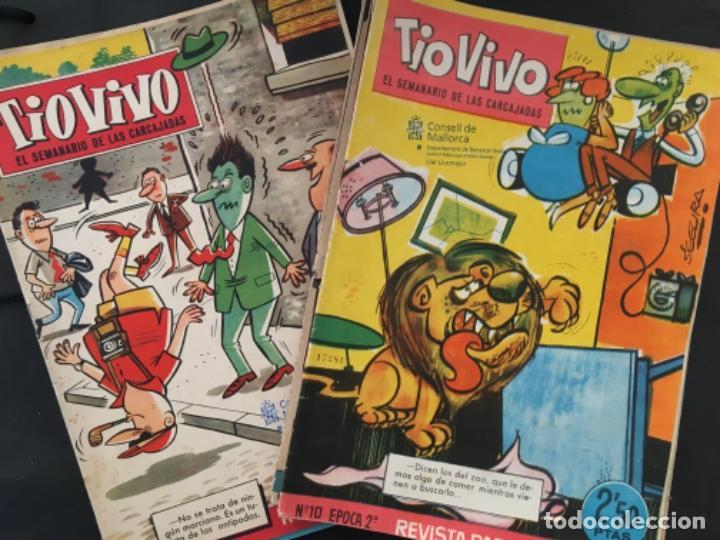 LOTE 14 COMIC ORIGINAL BRUGUERA, TIO VIVO, EL SEMANARIO DE LAS CARCAJADAS (Tebeos y Comics - Bruguera - Tio Vivo)