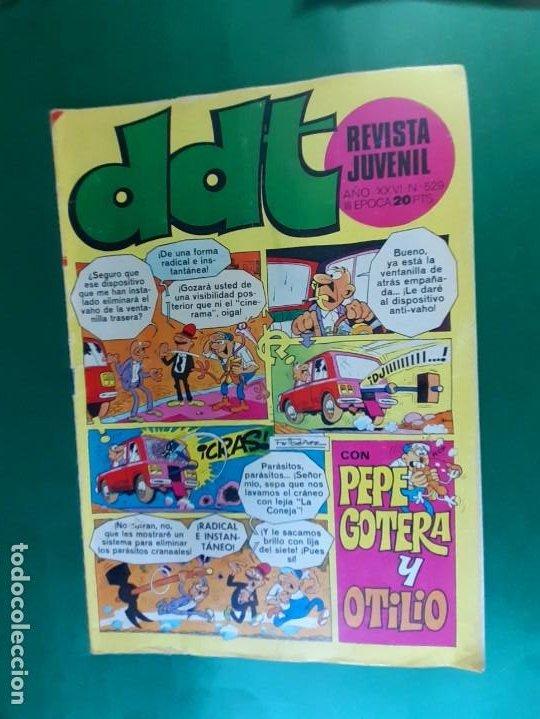 DDT Nº 529 EXCELENTE ESTADO (Tebeos y Comics - Bruguera - DDT)
