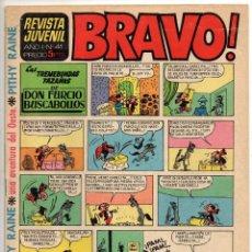 Tebeos: BRAVO Nº 41 (BRUGUERA 1968). Lote 198363511