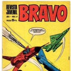 Tebeos: BRAVO Nº 27 (BRUGUERA 1968). Lote 198364448