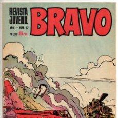 Tebeos: BRAVO Nº 17 (BRUGUERA 1968). Lote 198365886