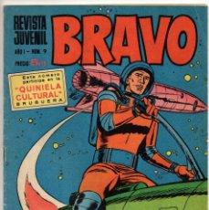 Tebeos: BRAVO Nº 9 (BRUGUERA 1968). Lote 198365950