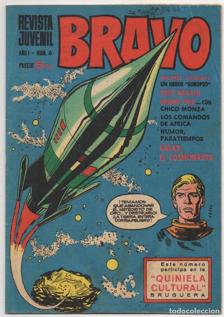 Tebeos: BRAVO nº 6, 9, 17, 27, 29, 35, 37, 38 y 41 (Bruguera 1968) 9 tebeos. - Foto 2 - 198366058