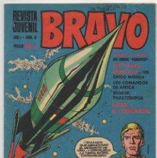 Tebeos: BRAVO Nº 6 (BRUGUERA 1968). Lote 198366058