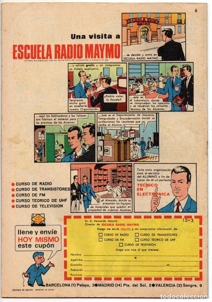 Tebeos: BRAVO nº 6, 9, 17, 27, 29, 35, 37, 38 y 41 (Bruguera 1968) 9 tebeos. - Foto 3 - 198366058