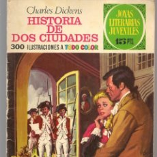 Tebeos: JOYAS LITERARIAS JUVENILES. Nº 3. HISTORIA DE DOS CIUDADES. (15 PTS). BRUGUERA, 1970.(P/B3). Lote 198398750