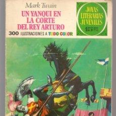 Tebeos: JOYAS LITERARIAS JUVENILES. Nº 5. UN YANQUI EN LA CORTE DEL REY ARTURO. (15 PTS)BRUGUERA,1970.(P/B3). Lote 198399087