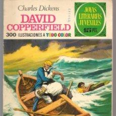 Tebeos: JOYAS LITERARIAS JUVENILES. Nº 8. DAVID COPPERFIELD. CHARLES DICKENS. (15 PTS)BRUGUERA,1970.(P/B3). Lote 198399441