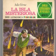 Tebeos: JOYAS LITERARIAS JUVENILES. Nº 13. LA ISLA MISTERIOSA. JULIO VERNE. (15 PTS)BRUGUERA,1970.(P/B3). Lote 198400096