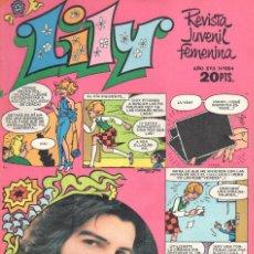 Tebeos: LILY REVISTA JUVENIL FEMENINA NUMERO 884. BRUGUERA. Lote 198403125