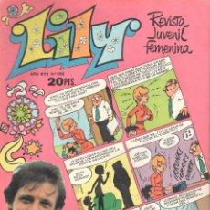 Tebeos: LILY REVISTA JUVENIL FEMENINA NUMERO 886. BRUGUERA. Lote 198403228