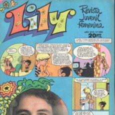 Tebeos: LILY REVISTA JUVENIL FEMENINA NUMERO 888. BRUGUERA. Lote 198403341