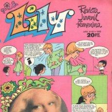 Tebeos: LILY REVISTA JUVENIL FEMENINA NUMERO 892. BRUGUERA. Lote 198403553