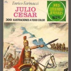 Tebeos: JOYAS LITERARIAS JUVENILES. Nº 47. JULIO CESAR. ENRICO FARINACCI. (15 PTS) BRUGUERA, 1972(P/B3). Lote 198405151