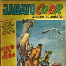 Tebeos: ÁLBUM JABATO COLOR Nº 26 1ª ÉPOCA. LA HUÍDA EN EL DESIERTO. BRUGUERA - 1971. Lote 198405570