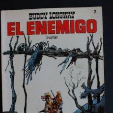 Tebeos: BUDDY LONGWAY - EL ENEMIGO - DERIB - COLECCION JET Nº 7 - BRUGUERA . Lote 198467445