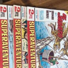 Tebeos: JABATO SUPER AVENTURAS NÚMEROS 899, 941 Y 919. Lote 198625162