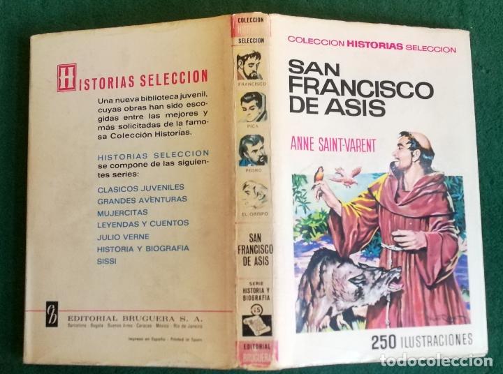 HISTORIAS SELECCIÓN - SAN FRANCISCO ASÍS - SERIE HISTORIA Y BIOGRAFÍA Nº 15 - 1/67 - MUY BUENO (Tebeos y Comics - Bruguera - Historias Selección)