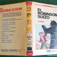 Tebeos: HISTORIAS SELECCIÓN - EL ROBINSÓN SUIZO - SERIE CLÁSICOS JUVENILES Nº 31 - 3/72 - MUY BUENO. Lote 198665750
