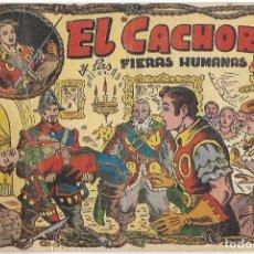 Tebeos: EL CACHORRO Nº 23, EL CACHORRO Y LAS FIERAS HUMANAS. IRANZO. EDITORIAL BRUGUERA, ORIGINAL 1.952.. Lote 198752931