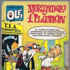 Tebeos: MORTADELO Y FILEMÓN NOVEDADES EN LA T.I.A Nº 215. Lote 198972075