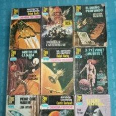 Tebeos: LOTE DE 17 BOLSILIBROS NOVELA, BRUGUERA, FUTURO , LOTE 9. Lote 198990191