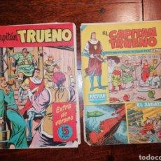 Tebeos: CÓMIC TEBEO EL CAPITÁN TRUENO EXTRA DE VERANO Y N°311 BRUGUERA. Lote 199057268