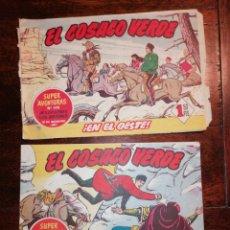 Tebeos: CÓMIC TEBEO EL COSACO VERDE NÚMEROS 63 Y 73 ORIGINALES BRUGUERA. Lote 199060898