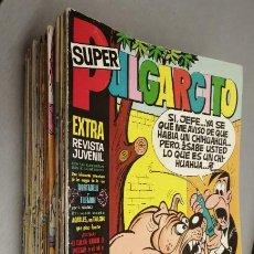 Tebeos: SUPER PULGARCITO / LOTE CON 28 NÚMEROS / BRUGUERA. Lote 199143410