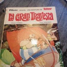 Tebeos: LIBRO ASTERIX LA GRAN TRAVESÍA (1975). Lote 199269515